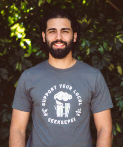 Support Your Local Beekeeper with Smoker T-Shirt